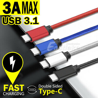 AU7.45 • Buy USB 3.1 TYPE-C Fast Charge Cable USB-C For Samsung S21 S20 Ultra S10 S9 S8 Note