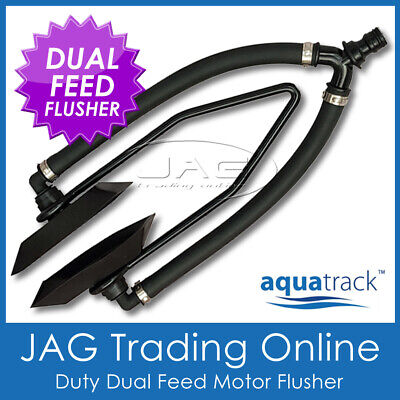 AU24.95 • Buy AQUATRACK DUAL FEED OUTBOARD BOAT MOTOR WATER FLUSHER-Large Rectangule Ear Muffs