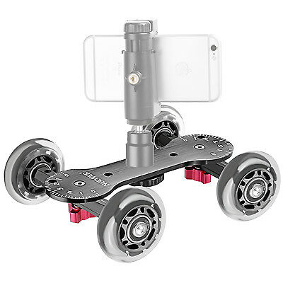 $39.99 • Buy Neewer Scaled Camera Table Dolly Slider For DSLRs Video Camcorders