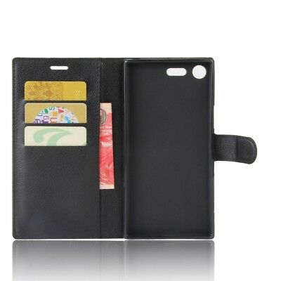 AU5.96 • Buy For Sony Xperia XZ Premium Phone PU Leather Flip Stand Wallet Case Cover