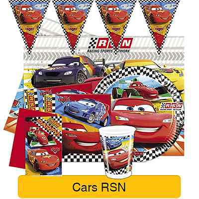 Disney CARS RSN Birthday PARTY Range(Tableware Balloons,Stickers & Decorations) • 3.29£