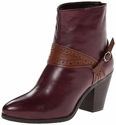 $109.99 • Buy Everybody By Bz Moda Shoes Saccare Booties Harness Ankle Boots Vino New $230 9