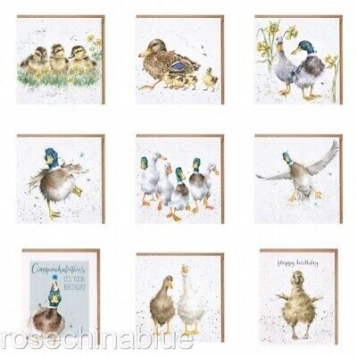 Wrendale Card Duck Ducklings • 2.95£