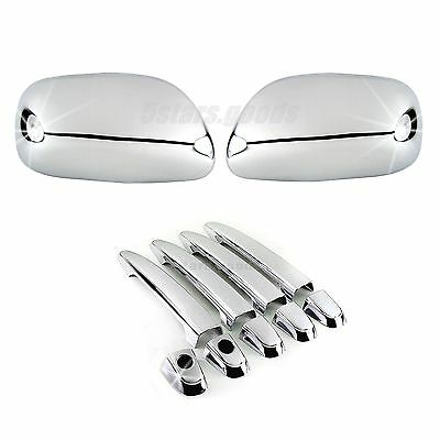 $39 • Buy Accessories Chrome Side Mirror + Door Handle Covers For Toyota Camry 2007-2011