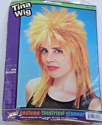 Tina Turner Like Glamour Theatrical Wig Halloween Costume Party Trick Or Treat • 17.95£