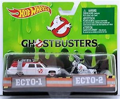 Ghostbusters  Ecto-1 And Ecto-2 Twin Set New In Pack • 17.99£