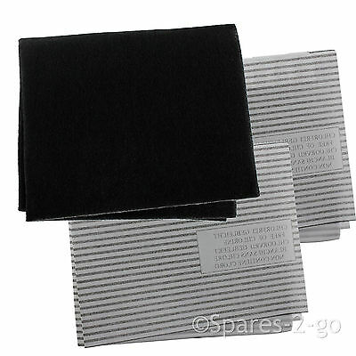 £8.75 • Buy Cooker Hood Filters Kit For WHIRLPOOL Extractor Fan Vent Carbon Grease Filter
