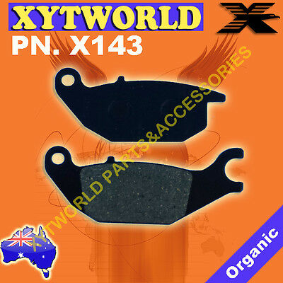 AU18.68 • Buy REAR Brake Pads For YAMAHA MW 125 Tricity Scooter 3 Wheeler 2014 2015 2016