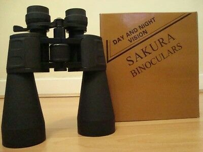 Sakura Large Powerful Binoculars 10-90x 60 Crystal Clear Sharp Image Day & Night • 31.99£