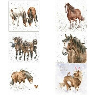 £2.95 • Buy Wrendale Greeting Card Horse Horses