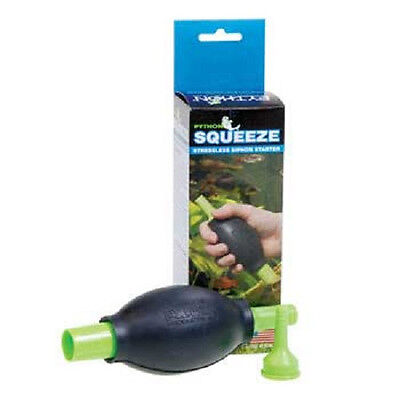 $11.94 • Buy Python Squeeze Bulb With Adapter Siphon Starter Free Shipping To The Usa
