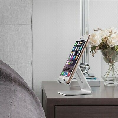 $4.89 • Buy Aluminum Desk Top Cell Phone Tablet Stand Holder Mount For IPad/iPhone Etc