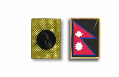 Pins Pin's Flag National Badge Metal Lapel Backpack Hat Button Vest Nepal • 2.85£