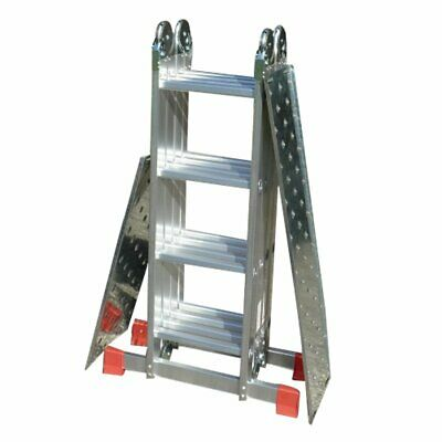 £79.99 • Buy Multi Purpose Ladder Superior BIG RED FOOT Folding Combi Extension Stair Ladders