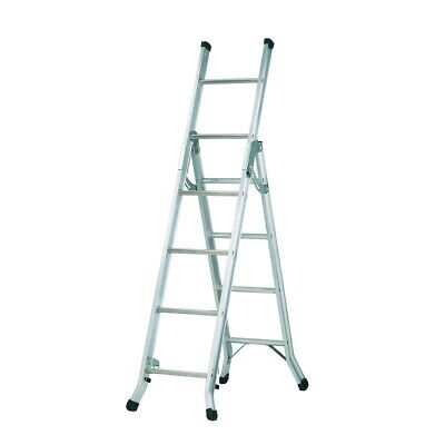 £84.99 • Buy Stair Combination Ladder - Ladders, 3 Way Combi, Extension & Staircase Stairs