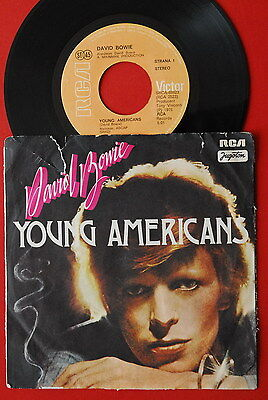 """£71.98 • Buy David Bowie Young Americans / Suffragette City 1975 Rare Exyu 7""""ps"""