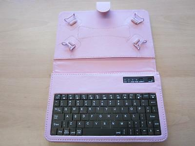 AU30.58 • Buy Pink Bluetooth Keyboard Laptop Angle Case 4 ARGOS CNM TOUCHPAD 7  DUAL CORE