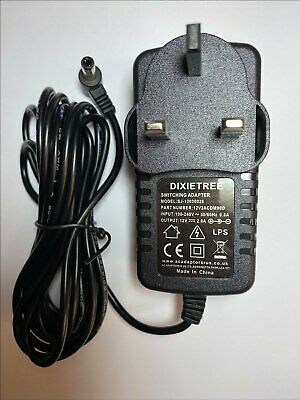 $15.86 • Buy 12V MAINS M-AUDIO AXIOM 25 49 61 KEYBOARD AC-DC Switching Adapter CHARGER PLUG