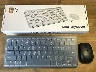 Black Wireless MINI Keyboard & Mouse Box Set For Imac 5.2 With Intel Core 2 Duo • 15.99£