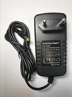 Asda Curtis DVD7015UK Portable DVD Player AC Adaptor Power Supply Charger EU • 10.90£