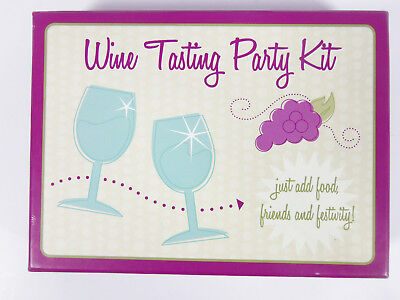 Wine Tasting Party Kit From Marking By C.R. Gibson • 14.99$