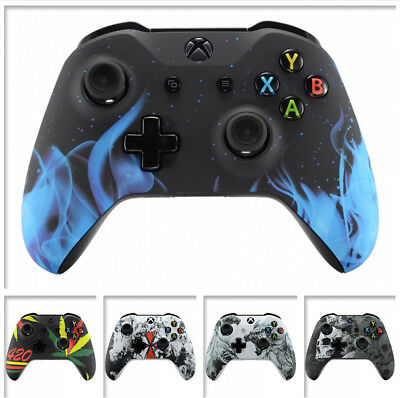 $16.99 • Buy Soft Touch Pattern Mod Faceplate Shell For Microsoft Xbox One S One X Controller