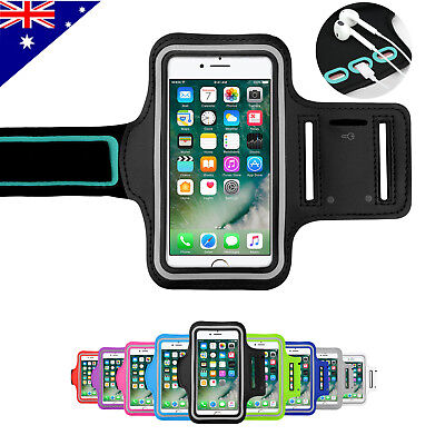 AU4.99 • Buy Sports Gym Running Exercise Jogging Armband For IPhone SE 2nd Gen 11 Pro XS Max