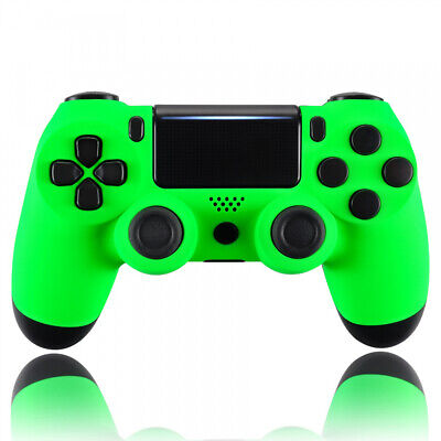 AU20.65 • Buy Neon Green Housing Shell Faceplate For PS4 Pro Slim Controller Replace JDM-040