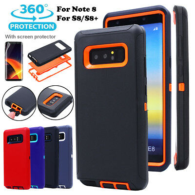AU13.89 • Buy Samsung Galaxy Note 8 S8+ Rugged Hybrid Shockproof Heavy Duty Hard Case Cover