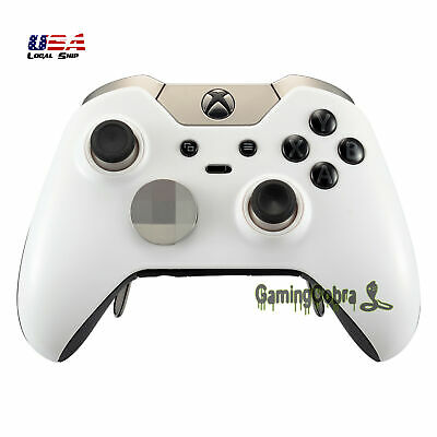 $13.99 • Buy For Xbox One Elite Controller Front Housing Shell Replacement Parts Solid White