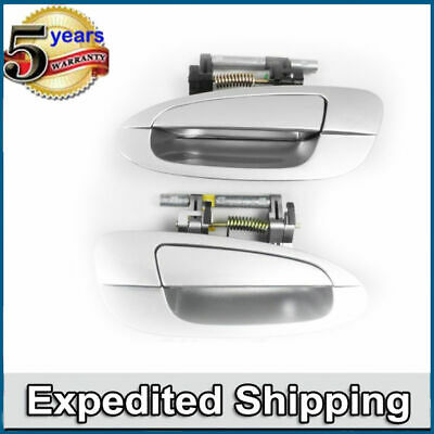 $39.45 • Buy Outside Door Handle K12 Silver Rear Pair DS341 For NISSAN ALTIMA
