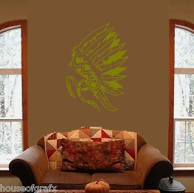 indian chief decals