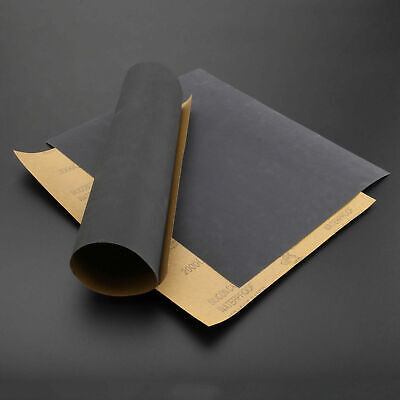 Emery Paper, Paper, Assorted Colors, Coarse Fine Grit, 11x8-1/2 Inches. 6 Sheets • 6.94£