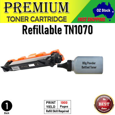 AU22 • Buy Refillable TN1070  Refill TN 1070  For Brother HL1110 DCP1510 MFC1810 HL1210W