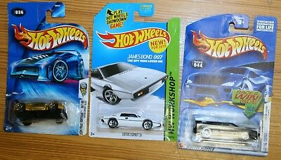 $ CDN23.97 • Buy 3 Hot Wheels Lotus Esprit 44 Black First Edition, S1 White Workshop, Sport Elise