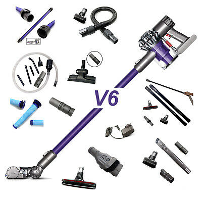 For Dyson V6 Vacuum Cleaner Spare Parts Accessories Tools Hose Filters Battery   • 10.07£