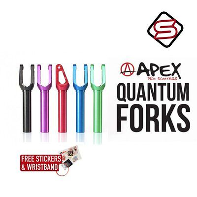 £98.95 • Buy Apex Quantum Threadless Scooter Fork - All Colours - FREE STICKERS