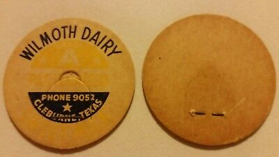 $4 • Buy Wilmoth Dairy Bottle Stoppers,Cleburne,Texas