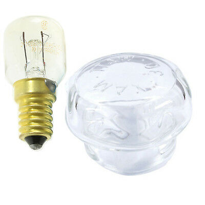 £14.73 • Buy PRIMA Genuine Oven Cooker Glass Lamp Light Bulb Cover Screen And Oven Lamp