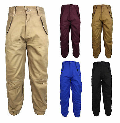 £7.95 • Buy Boys Location Chino Pant Jeans Cuffed Chinos Coloured Pants Combat Trousers Kids