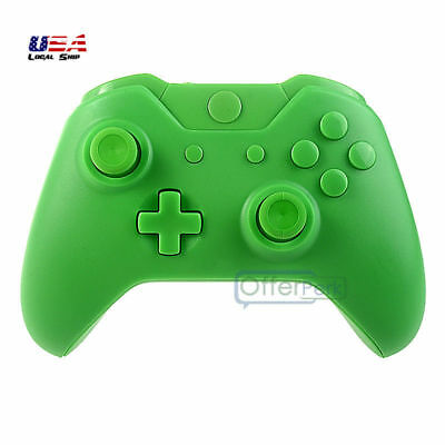 Matte Green Full Housing Shell Case Buttons Tools Kits For Xbox One Controller • 9.79$
