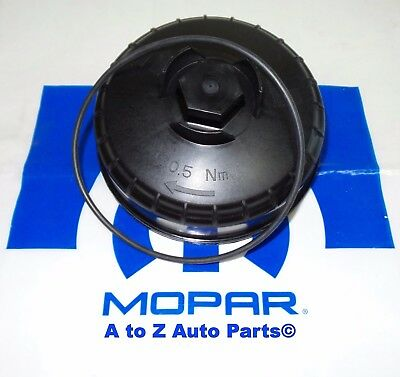 $84.95 • Buy NEW Dodge Ram 6.7 Cummins Diesel Fuel Filter Canister Housing Cover Lid Cap,OEM