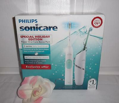 AU119.82 • Buy Sonicare ProResults Plaque Control 2 Series Electric Sonic Toothbrush + AirFloss
