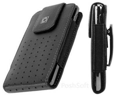 AU17.56 • Buy Leather Carry Case For ZTE Axon 7s & Axon M -Cover Pouch+Holster Belt Clip
