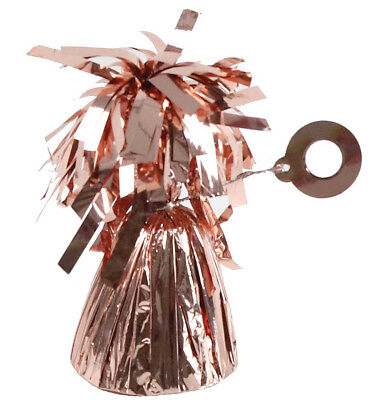 £6.95 • Buy 5 Rose Gold Helium Balloon Foil Weights Wedding Birthday Party Decorations     A