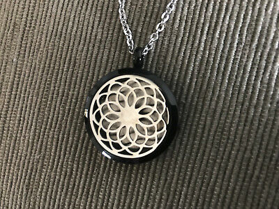 AU39.95 • Buy Valyria Stainless Steel Dreamcatcher Essential Oil Diffuser Necklace For DoTERRA