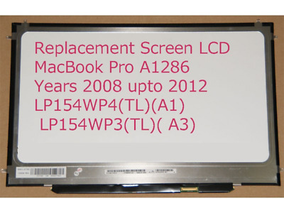 $64.99 • Buy LCD Screen For Apple MacBook Pro 15  A1286 LED 2009 2010 2012 2011 15.4  NEW