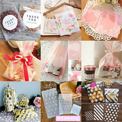 50Pcs Love Valentine's Day Wedding Favours Party Favour Biscuit Cookie Gift Bags • 2.46£