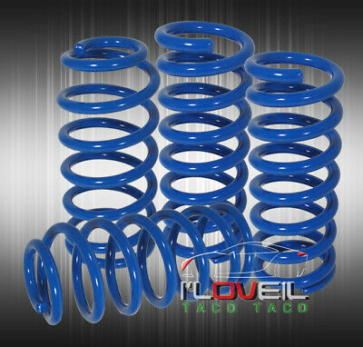 $89.99 • Buy Blue Racing Lowering Spring Lower Kit Set For 1979-2004 Ford Mustang GT V6 V8