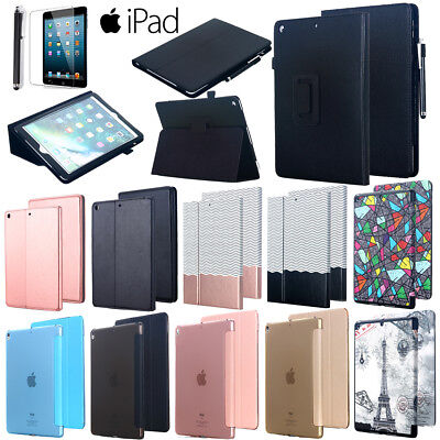 AU22.89 • Buy Leather Flip Magnetic Smart Case Cover F New IPad 9.7  2018 Pro 12.9  10.5  2017